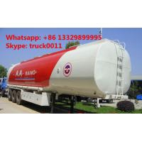 Wholesale 40,000L carbon steel triple axles fuel trailer for sale from china suppliers