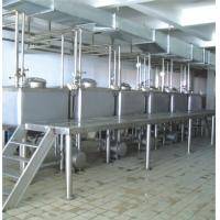 Wholesale Square High Speed Emulsification Tank , Stainless Steel Mixing Tank from china suppliers