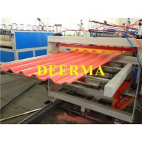 Wholesale Plastic Roofing Sheet Making Machine , PVC Roof Panel Machine Production Line from china suppliers
