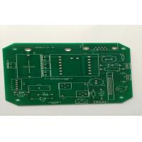 Wholesale Single Side FR4 White Silkscreen PCB , 1.6mm 1oz HAL Lead Free Green Solder Mask from china suppliers