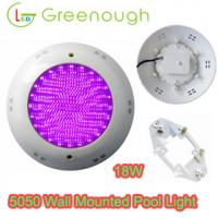 Wholesale Wall Mounted LED Pool Light/ RGB LED Spa Pool Light 18W/Underwater light/Landscape Light from china suppliers