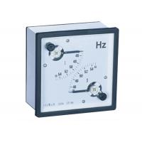 Wholesale 96 * 96  45 - 65 Hz Analogue Panel Meters ,  Dual Frequency Meter from china suppliers
