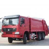 Wholesale Howo Waste Collection Truck , 6 - 9 Cubic Rubbish Compactor Truck For Garbage Collect from china suppliers