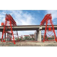 Wholesale QM70T- 30M - 22M Bridge Construction Site Truss Double Girder Gantry Crane from china suppliers