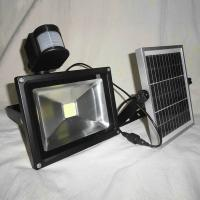 Wholesale 10 watt Outdoor Solar Flood Lights with motion sensor CE / Rosh from china suppliers