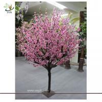 Wholesale UVG CHR075 Pink Peach Blossom Decorative Artificial Wooden Tree for Wedding and Party Lan from china suppliers