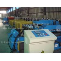 Quality 5-10m / min Metal Tile Roll Forming Machine with Passive/Hydraul Single or Double Uncoiler for sale