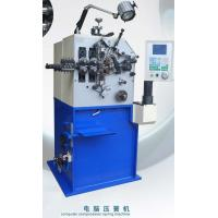 Wholesale Blue Painting Compression Spring Machine / Spring Coiling Machinery from china suppliers