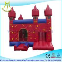 Wholesale Hansel New design large giant inflatable jumping bouncy castle from china suppliers
