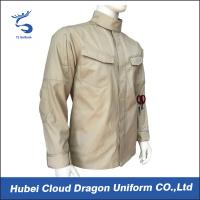 Wholesale Cotton Poly Twill Military Combat Shirts Long Sleeve Work Shirts All Size from china suppliers