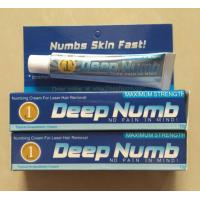 Buy cheap Hot selling Deep Numb skin fast anesthetic cream 10g for doing tattoo from wholesalers