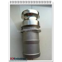 "Wholesale Stainless Steel camlock quick couping casting product type E size 1"" from china suppliers"