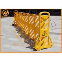 Wholesale Temporary Road Safety Plastic Traffic Barriers / Expandable Barricade from china suppliers
