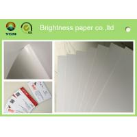 Buy cheap Grade AA C2s Glossy Poster Paper , Glossy Brochure Paper For Inkjet Printers from wholesalers