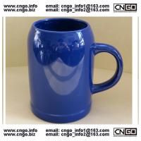Wholesale wholesale glass beer mug ceramic beer cup custom LOGO 500ML beer mug from china suppliers