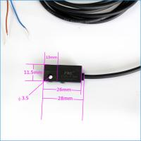 China 12V 2 Wires Reed Electric Magnetic Switch Sensor For Cylinder on sale