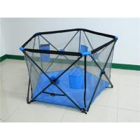 Wholesale Portable Outdoor / Indoor Pop N Play Portable Playard 5 Panel Metal For Baby from china suppliers