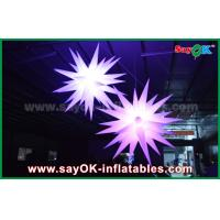 Wholesale Giant 1.5m LED Star Balloon Inflatable Lighting Decorations For Pub / Bar from china suppliers