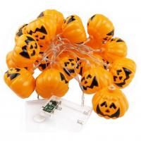 Quality Pumpkin led fairy string halloween led decorative string for sale