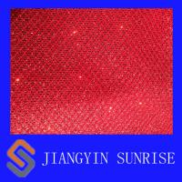 Wholesale Chunky Shinning Glitter Faux Leather Fabric For Clothing , Custom from china suppliers