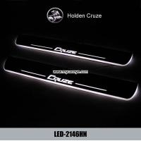 Wholesale Holden Cruze auto accessory LED moving door scuff led lights suppliers from china suppliers