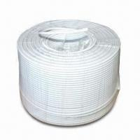 Wholesale Coaxial Cable with 0.04 ±0.005mm Aluminum Foil, Available in White from china suppliers