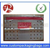 Wholesale PE Transparent Fruit Packaging Bags Resealable Slider With Air Holes from china suppliers