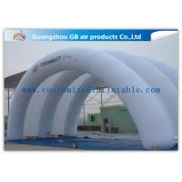 Quality White Inflatable Arch Tent / Inflatable Tunnel Tent With Oxford Cloth Material for sale