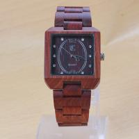 Wholesale Waterproof handmade wood watches With China Movement , OEM service from china suppliers