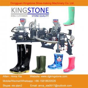 Kingstone Machinery Manufacturer Rotary Gumboots Rain Boot Making Machine