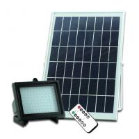 Solar Powered LED Flood Light Remote Controller Garden Light LED Floodlight Outdoor Emergency Camping Lights