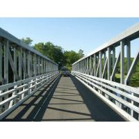 Quality 100 Meters Large Span Delta Frame Bridge Q345B Steel With Hot Dip Galvanized for sale