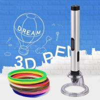 Quality New kids magic pen 3D Printer Pen with abs pla pcl 1.75mm filaments for sale
