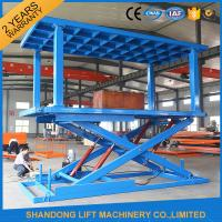 Wholesale Portable Hydraulic Scissor Car Lift home elevator WITH high strength Manganese Steel from china suppliers