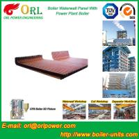 Wholesale CFB 110 MW Boiler Water Wall Panels For High Temperature Solid Fuel Boiler from china suppliers