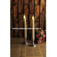 Wholesale Extra Bright Flameless LED Taper Candles With Ivory Plastic Boby and Dripping Finish from china suppliers