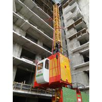 Wholesale 1 Ton SS100/100 Frequency Conversion Vertical Automatic Rack and Pinion Elevator 23.5m/min from china suppliers
