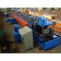 Wholesale Gray Color Fully Automatic 13Stations C Purlin Channel Steel Roll Forming Machine 12m / min from china suppliers