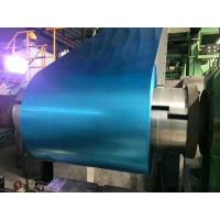Buy cheap Blue Tinted Anti - Finger Print Hot Dipped Galvalume Steel Sheet In Coils from wholesalers