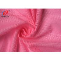 Wholesale Free Sample 100% Polyesyer Sports Mesh Fabric Tricot Athletic Fabric For Garment from china suppliers