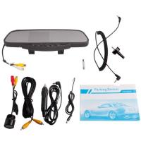 "Wholesale DC 9-15V Car Rear View Mirror With 3.5"" Tft And Camera /Dual Stereo Louder Speaker from china suppliers"