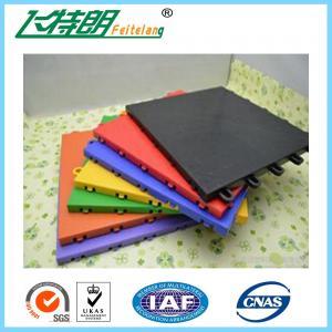 Wholesale Non - Slip Rubber Interlocking Playground Matting PolypropyleneFlooring from china suppliers
