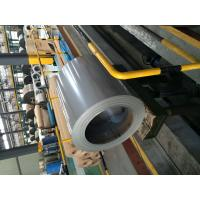 Quality RAL9022 Metallic Silver Prepainted Steel Sheet In Coil ,  0.7 X 760mm , AZ265 With 5% Aluminum for sale