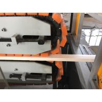 Wholesale Lightweight WPC Profile Extrusion Line For Decking  with automatic spring feeding machine from china suppliers