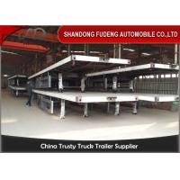 Wholesale 40 Feet Flatbed Semi Trailer Container Semi-Trailer Fuwa Axle  For Sale from china suppliers