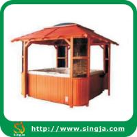 Wholesale High quality wood gazebo(WG-03) from china suppliers