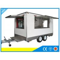 Wholesale OEM Kitchen Food Vending Trailers Portable Food Carts For Rent from china suppliers