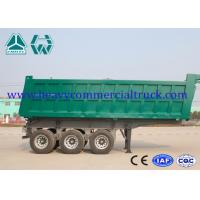 Wholesale Reliable Structure Hydraulic Square Tipping Trailer , Heavy Truck Trailer from china suppliers