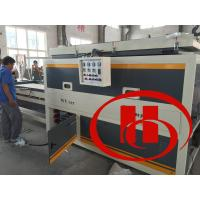Wholesale wood and plastic wpc door board vacuum laminate machine, door board surface treatment machine from china suppliers