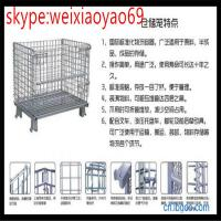 Wholesale Welded Wire Mesh Container  storage  cage/security cage/pallet cage/storage cage on wheels(100% really factory) from china suppliers